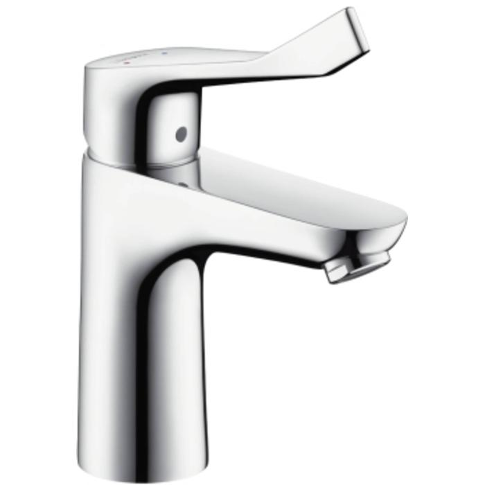 Hansgrohe Focus Care 100 wastafelkraan met waste Chroom