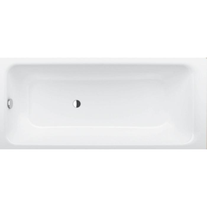 Bette Select bad 180 x 80 cm. overloop aan voeteneind Wit