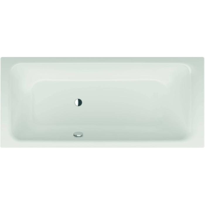 Bette Select bad 160 x 70 cm. voeteneind rechts overloop achter Wit