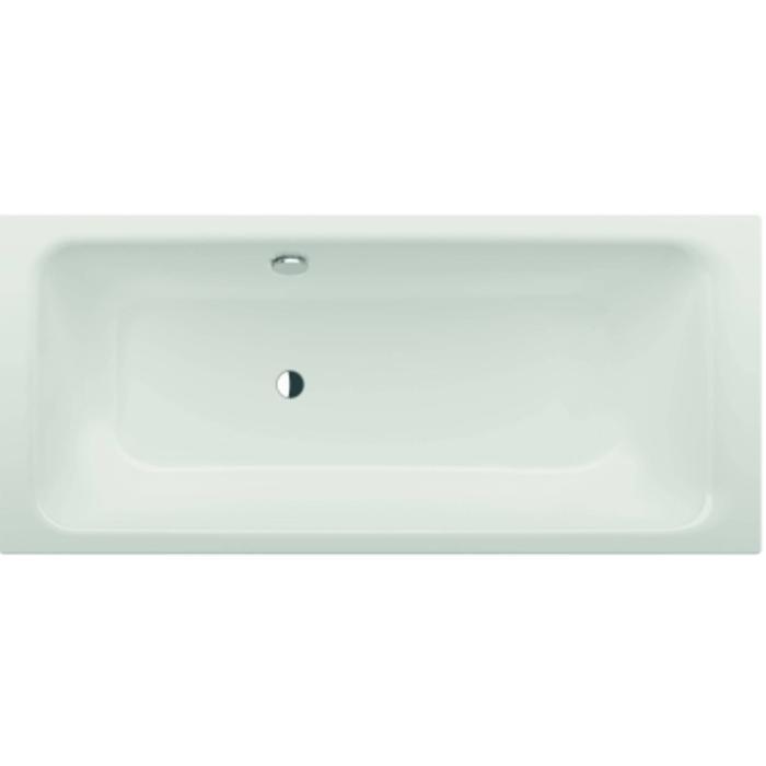 Bette Select bad 180 x 80 cm. voeteneind rechts overloop achter Wit