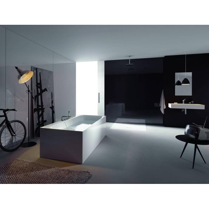 Bette Lux v silhouette side bad 180 x 90 x 45 cm. Wit