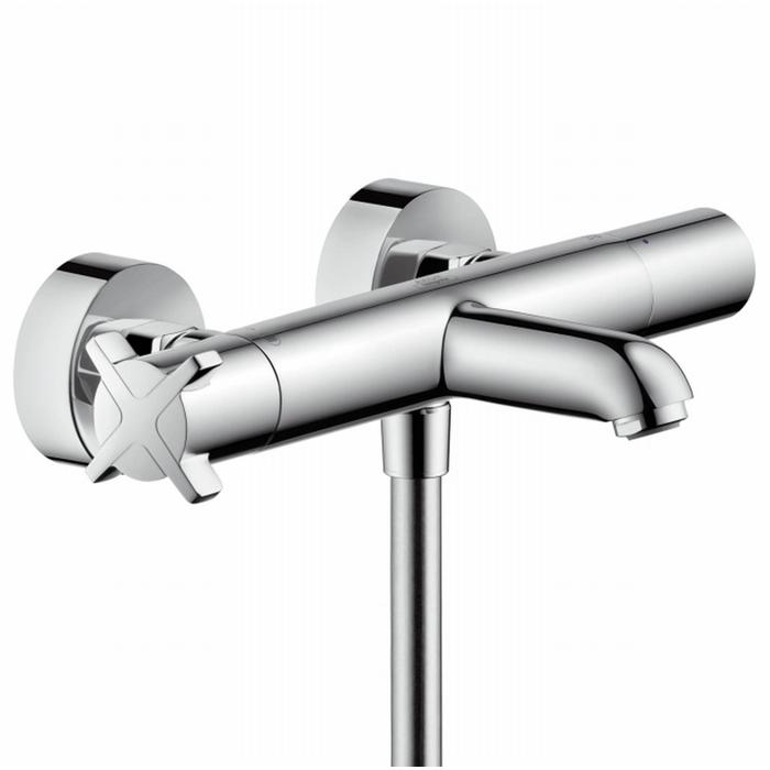Hansgrohe Axor Citterio E badthermostaat 15 cm. Chroom