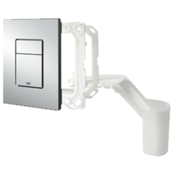 Grohe Skate Cosmopolitan bedieningspaneel 2-knops met toiletblokhouder chroom
