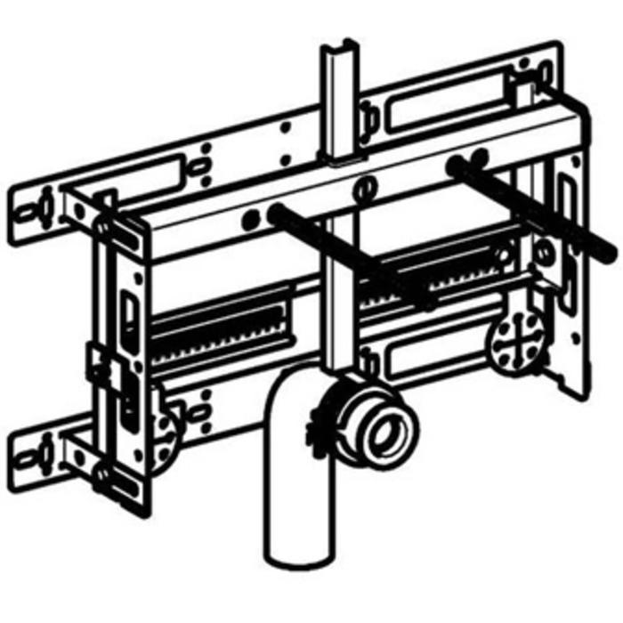 Geberit Kombifix inbouwreservoir voor bidet