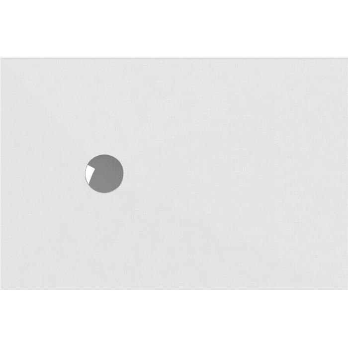 Wisa Cristal Douchevloer Rechthoekig 100x90cm Wit
