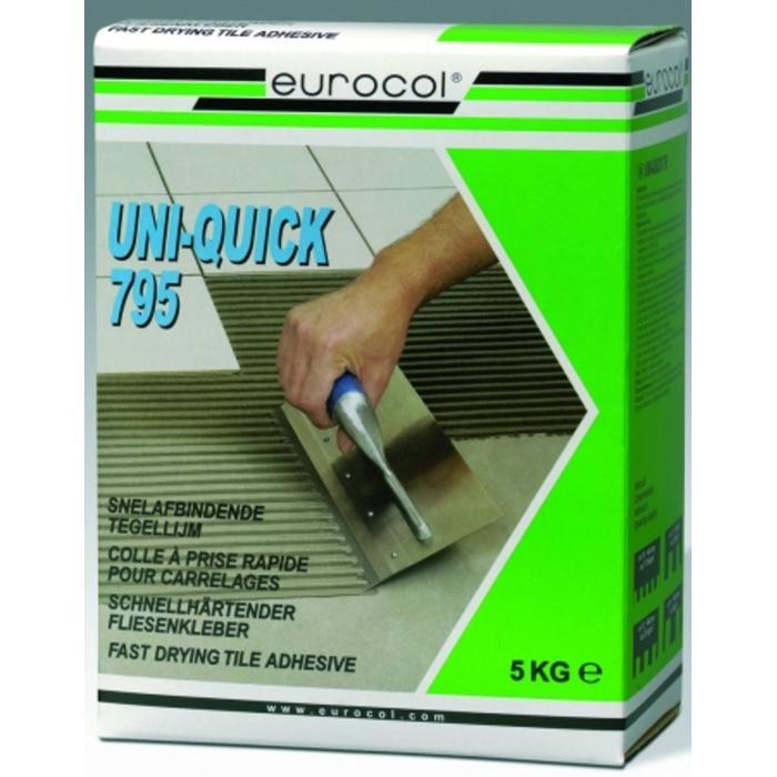 Eurocol Uni-Quick Poederlijm Doos A 5 Kg. 795