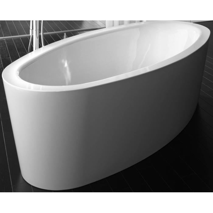Bette Home oval silhouette vrijstaand bad 180 x 100 cm. Wit