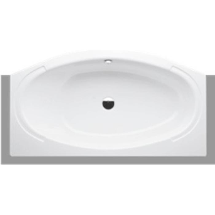 Bette Home Comfort nisbad met paneel 180x100/75 cm. Wit