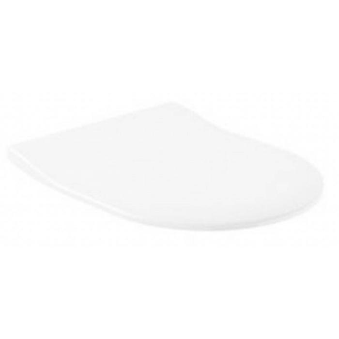 Tweedekans Villeroy & Boch Subway closetzitting slimseat softclose en quickrelease Wit 00407