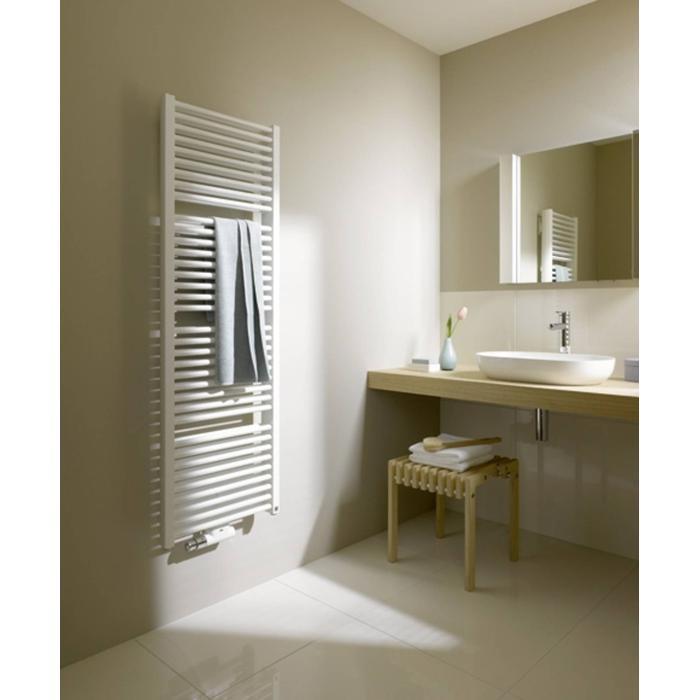 Kermi Duett handdoekradiator 119x63cm 1089W Wit