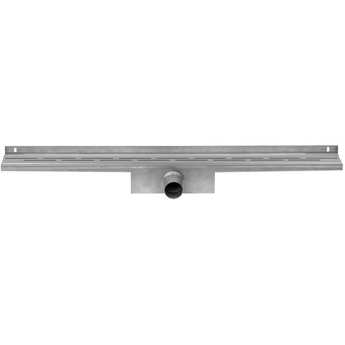 Tweedekans Easydrain Compact Wall 50 afvoergoot 6x100 cm zijuitlaat RVS 00314