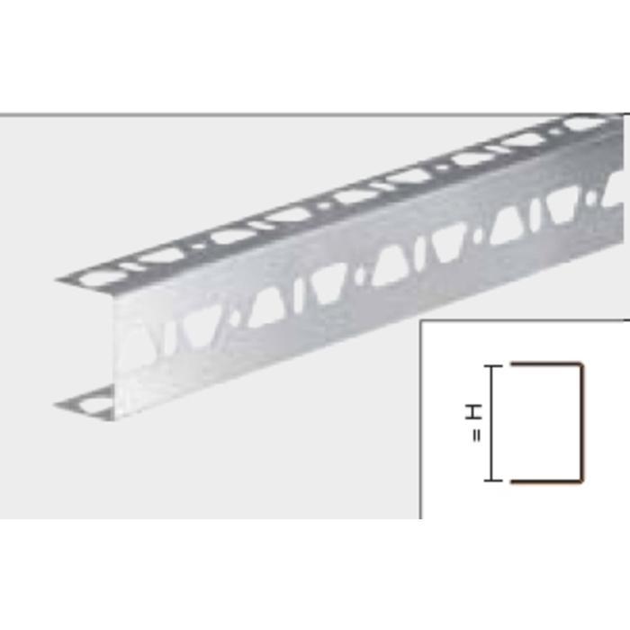 Schluter Kerdiboard Uprof.3Xperf.19Mm.Zb19E Gl.Rvs