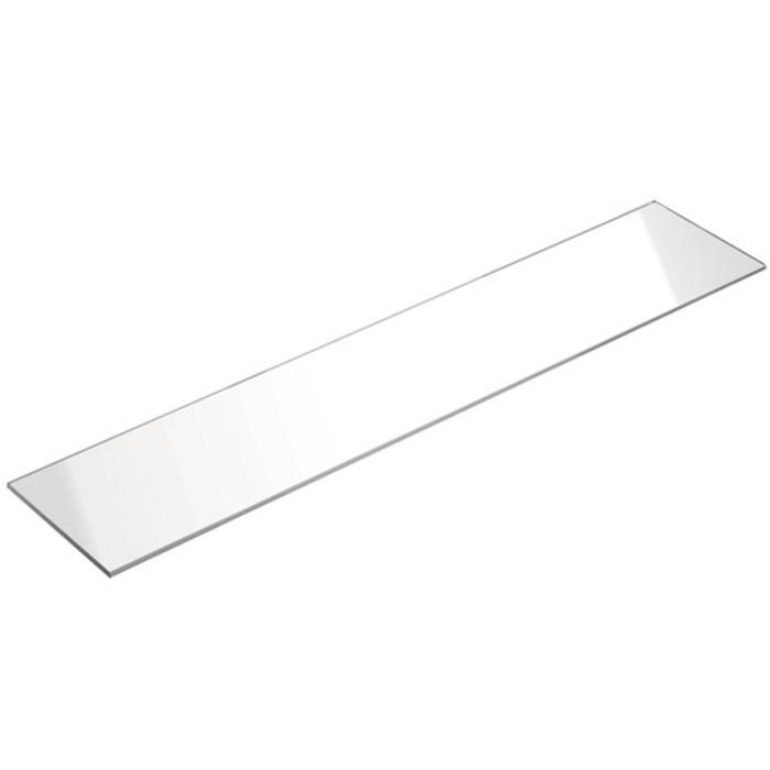 Swallow M-Line glazen legplaat 60x12 cm