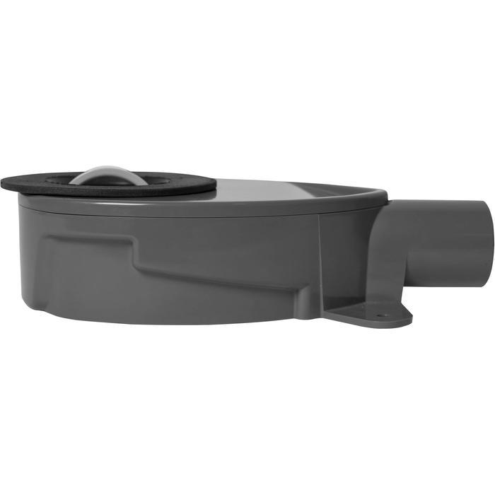 Easydrain sifon ondiep m2 v/s-line en xs-line waterslot 28mm Zwart