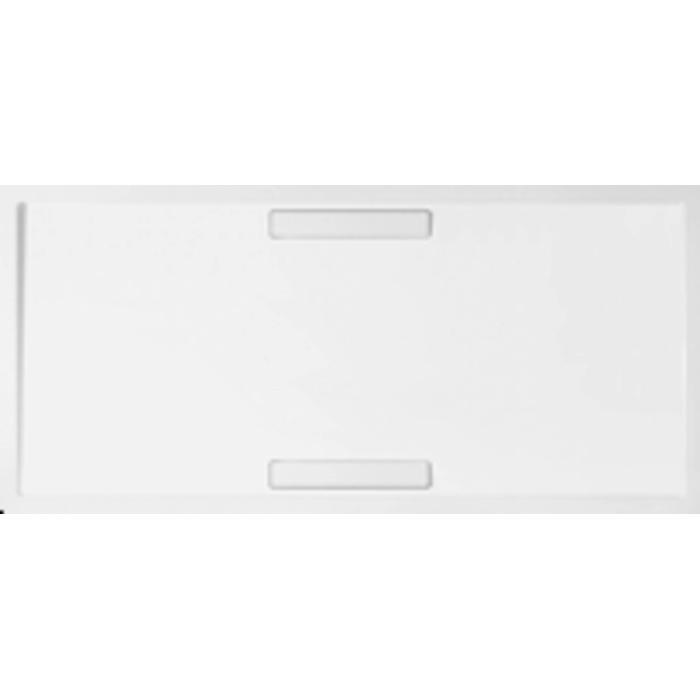 Villeroy & Boch Squaro douchebak 170x80x1,8 cm. m/afvoer en ondersteuning Wit