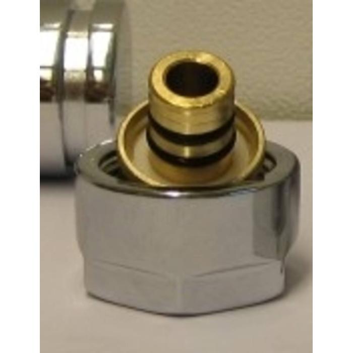 Honeywell Thera aansluitkoppeling voor vpe m24x16 Chroom