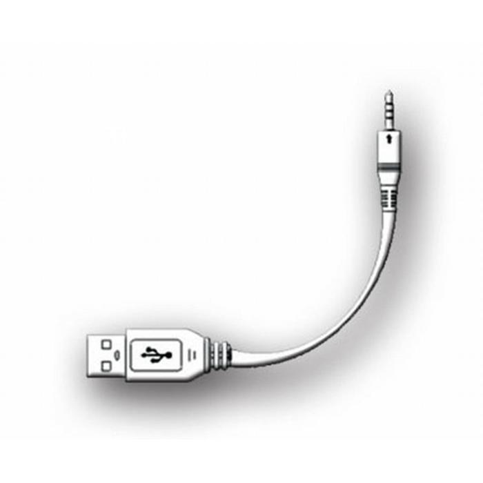 AquaSound kabel voor oplaadset compleet voor wipod Zwart