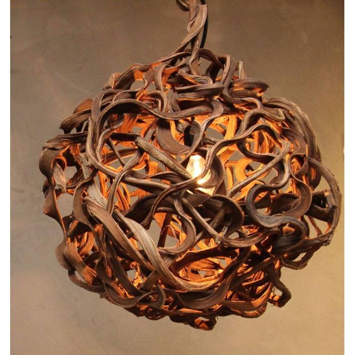 Teak & Living Lamp