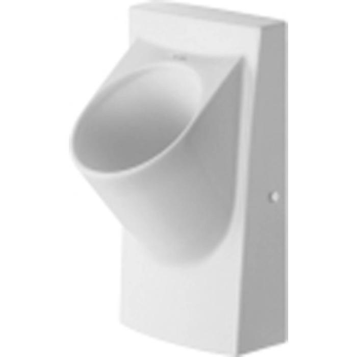 Duravit Architec urinoir waterloos met vlieg afvoer horizontaal wit