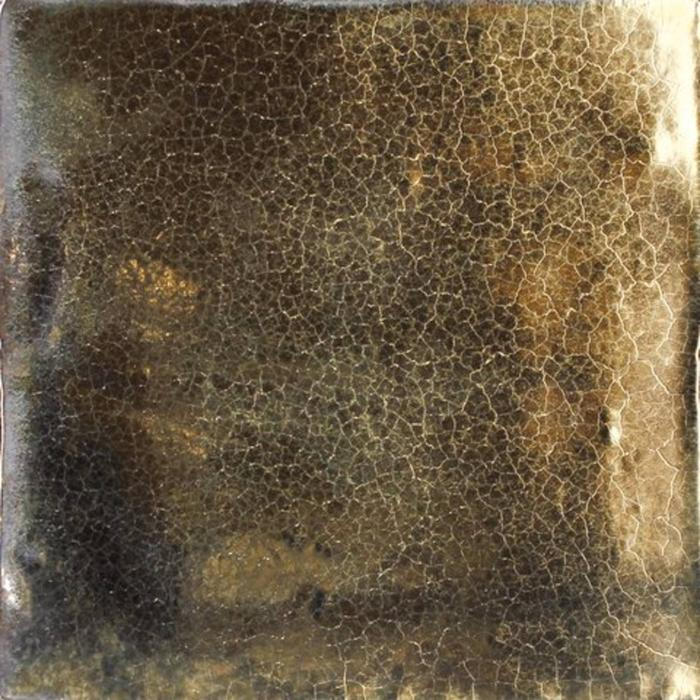 Wandtegel Vintage Metallic 13x13 cm Gold 0,51 M2