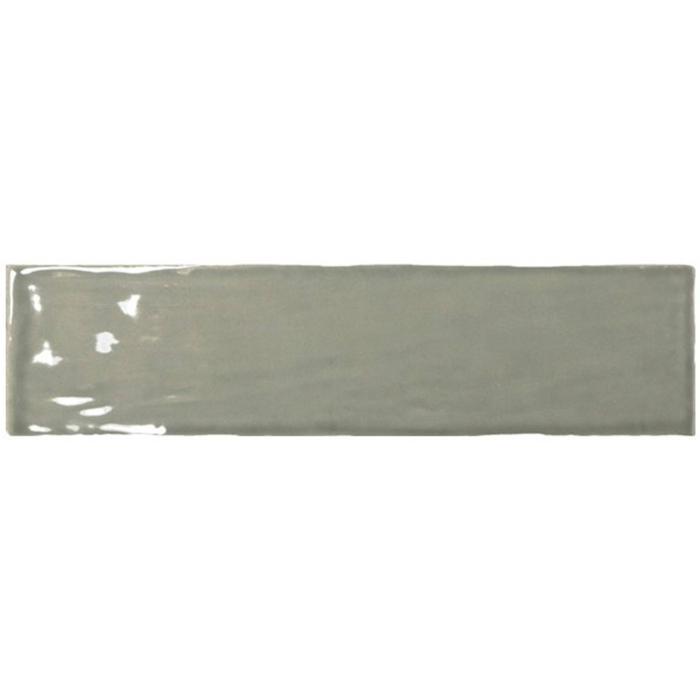 Wandtegel Equipe Masia 7,5X30 cm Olive 1 M2