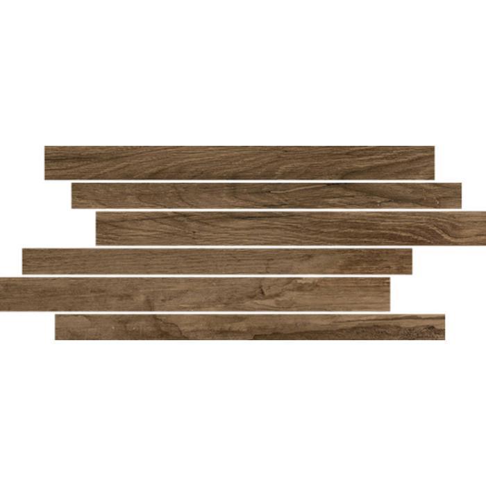 Muretto Castelvetro Woodland 20x40x1 cm Rood/Bruin 4ST
