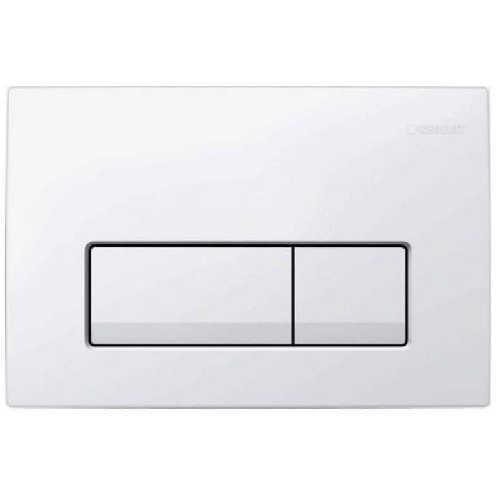 Geberit Delta 51 Bedieningsplaat 16,3x24,6x2 cm Wit