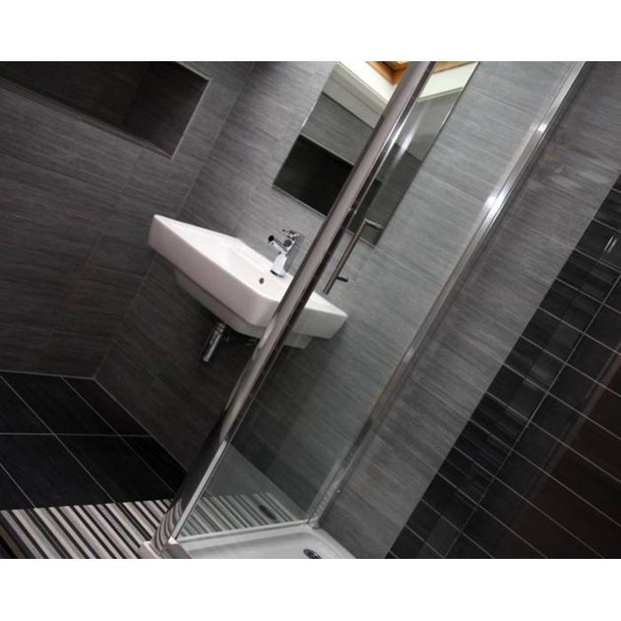 Vloertegel Casalgrande Padana Metalwood 30x60x0,95 cm Silicio 1ST