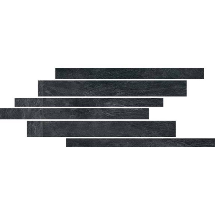 Muretto Rex Ardoise 40x21x1 cm Noir 0,42M2