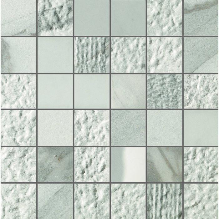 Mozaïek Italgraniti Experience 30x30x0,95 cm Wit/Grijs 1,08M2
