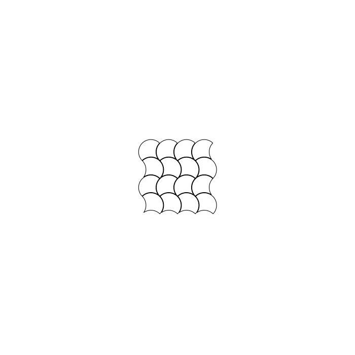 Mozaïek Coem REVERSO 28,4x28,4x1 cm Beige 5ST