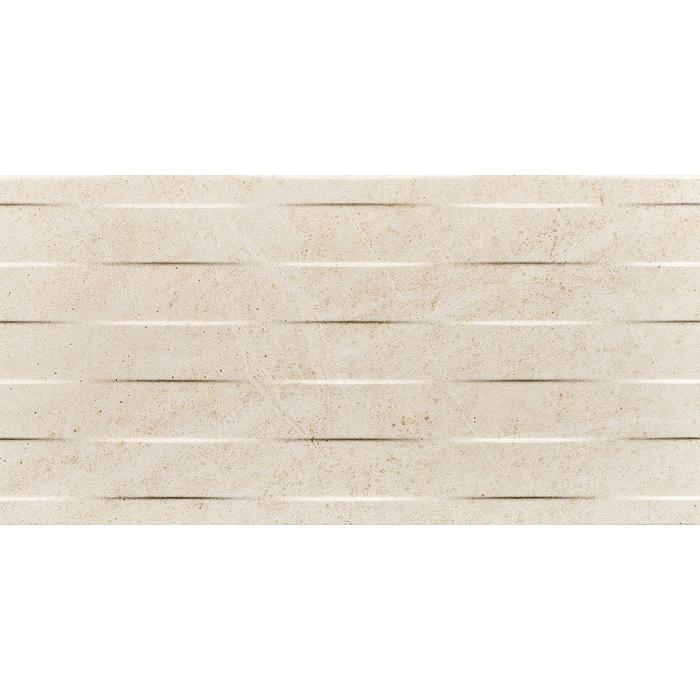 Wandtegel Coem Soap Stone 30x60 cm Wave white 1,08 M2