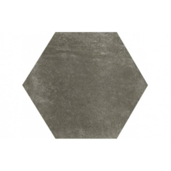Vloertegel Serenissima Riabita il cotto 24x27,7x- cm Grijs Industrial 0,97M2