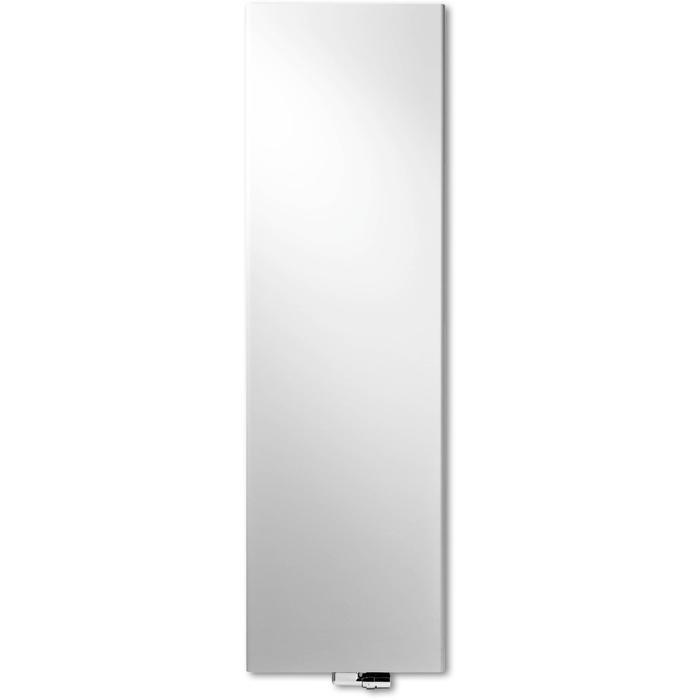 Vasco Niva Soft Verticaal NS2L1 designradiator 202x64cm 2091W Aluminium Grijs Januari