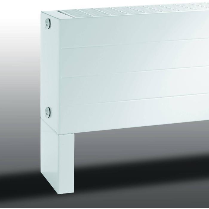 Vasco Primula P4 radiator as=0018 28x60cm 1103W Antraciet Grijs