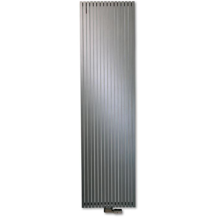 Vasco Carré Plus Verticaal CPVN2 designradiator as=0066 180x48cm 1878W Platina Grijs