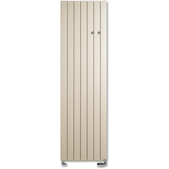 Vasco Viola Verticaal V1L1-ZB designradiator as=0099 120x43cm 842W Warm Grijs