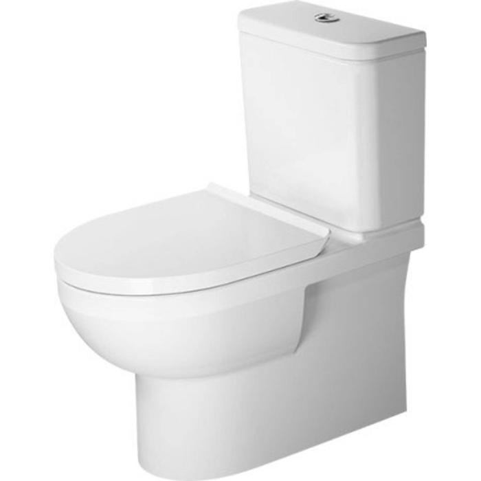 Duravit Staand toilet DuraStyle Basic wit, WonderGliss