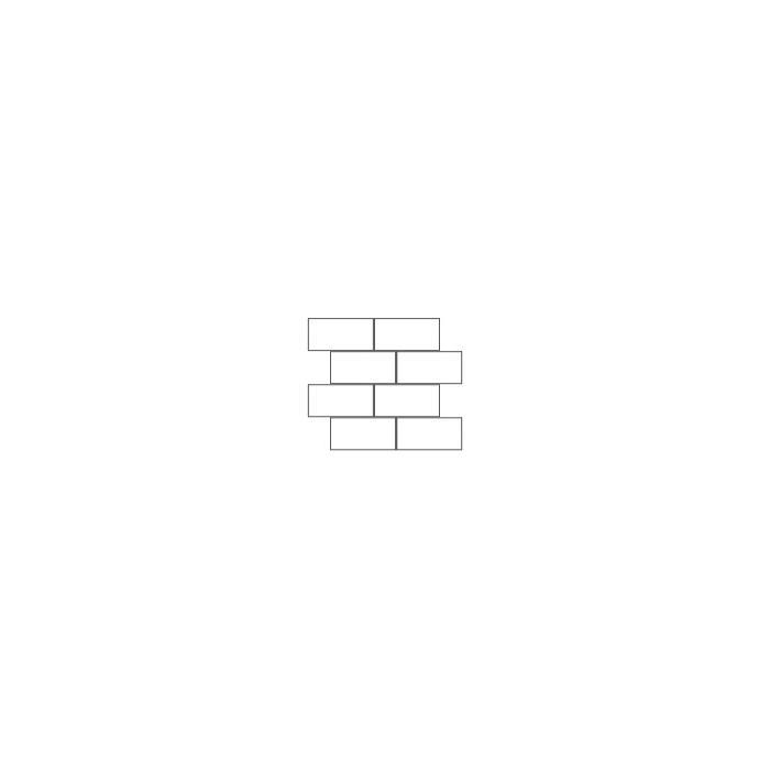 Muretto Casa Dolce Casa STONES & MORE 30x30x- cm Stone Burl White 11ST