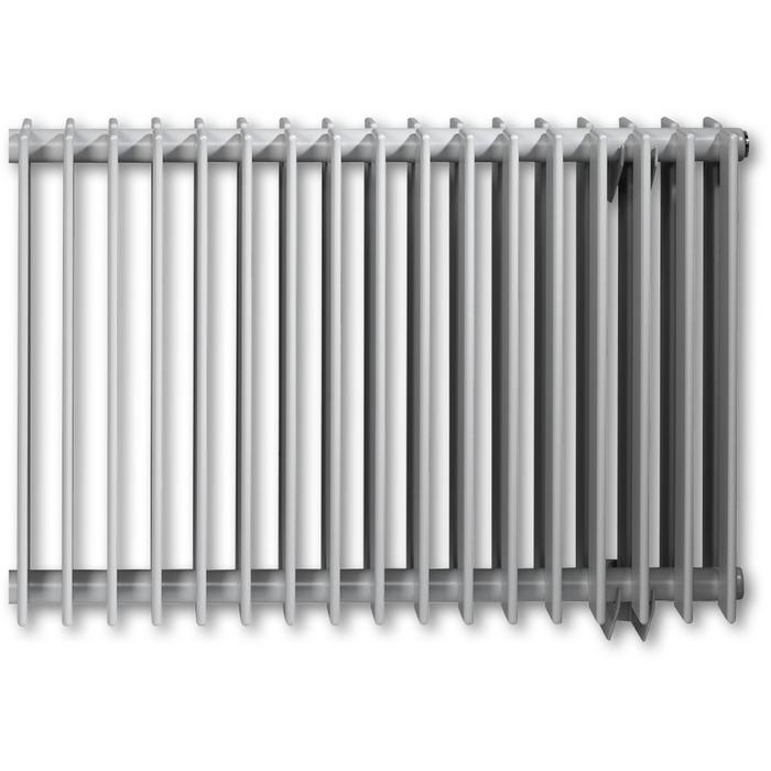 Vasco Tulipa Horizontaal TH2 radiator as=0023 70x126cm 2089W Aluminium Grijs