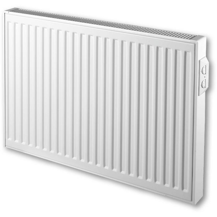 Vasco E-Panel Horizontal Rib EP-H-Rib Designradiator 60x80 cm Antraciet Grijs