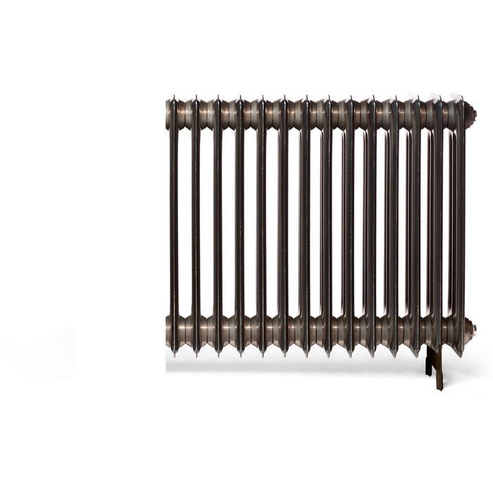 Vasco Vintage '50 radiator 100x18cm 252W Wit Structuur