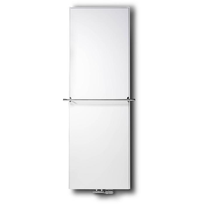 Vasco Flat V-Line designradiator as=0600 220x40cm 1283W Wit Structuur