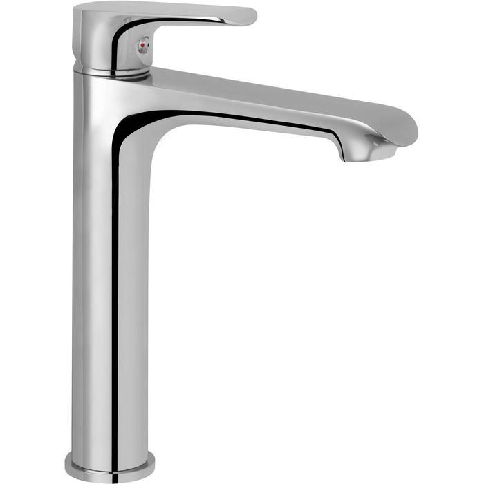 Saqu Design Collection 200 Wastafelkraan Hoog chroom
