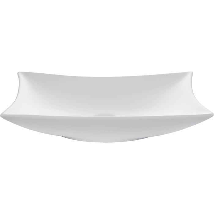 Saqu Design Collection Wave Opzetwastafel 56x37x11 cm wit