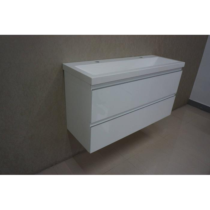 Saqu Pure  onderkast 100x36cm Glossy white