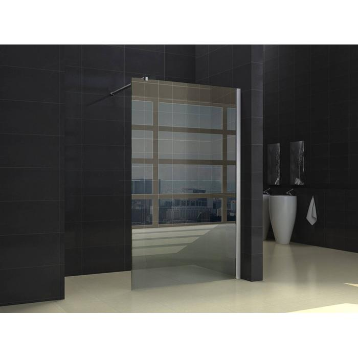 Saqu Inloopdouche 90x200 cm helder glas/chroom profiel