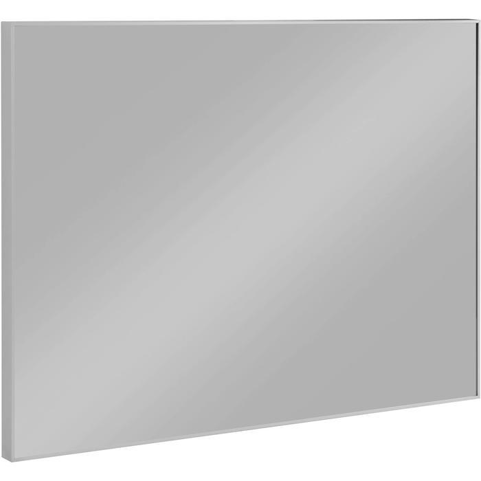 Saqu Simple Spiegel met aluminium lijst 80x60x2,1 cm