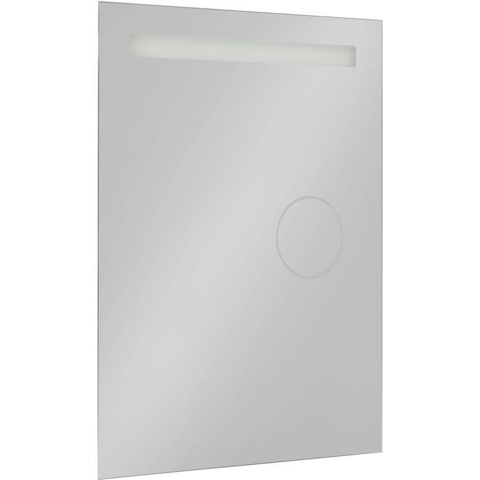 Saqu Functional Spiegel met LED verlichting en scheerspiegel 60x80 cm