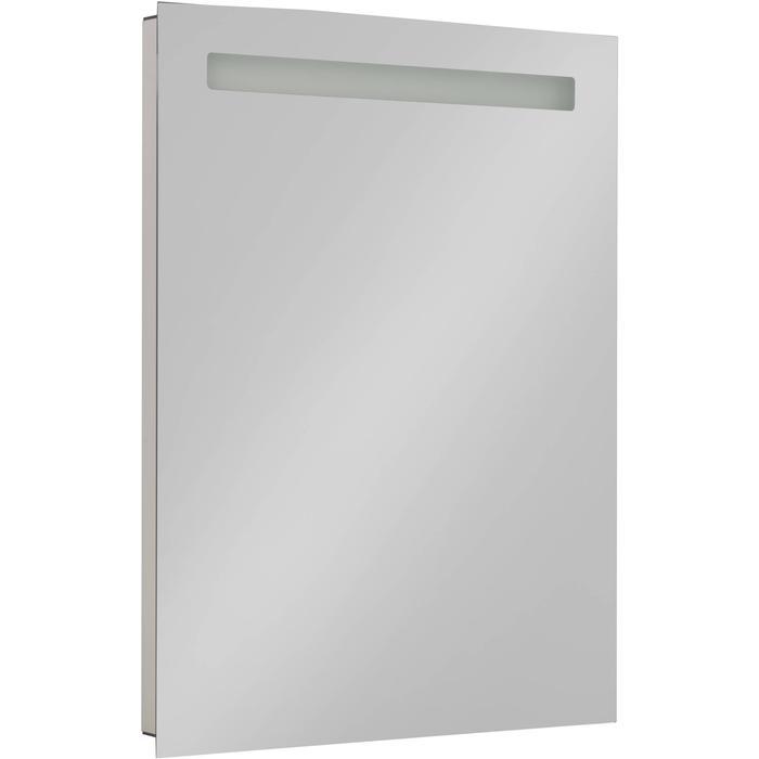 Saqu Plain Spiegel met LED verlichting en stopcontact 60x80 cm